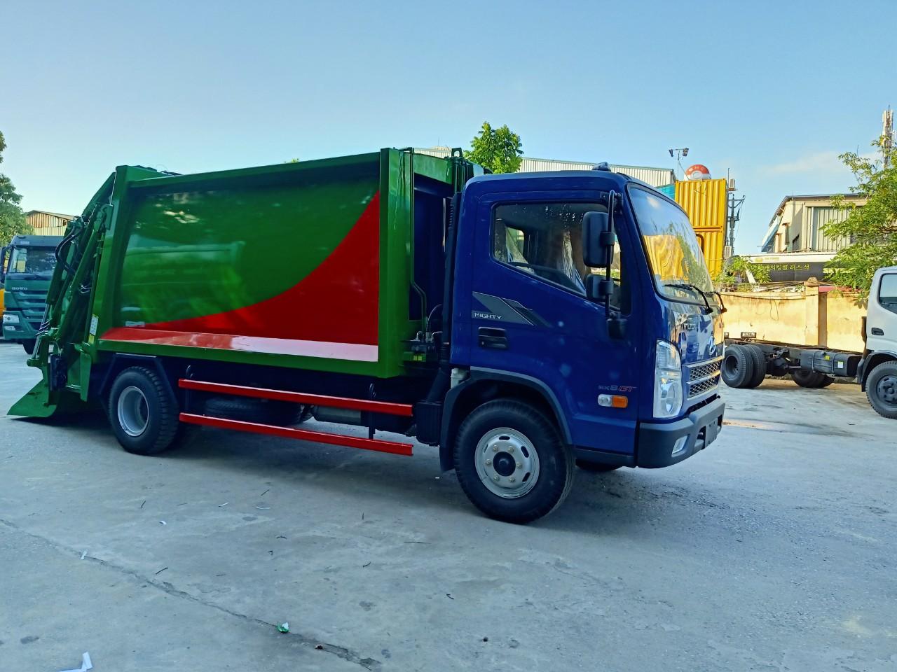 Giảm giá lên đến 30 triệu khi mua xe ép rác 10 khối HYUNDAI 2020